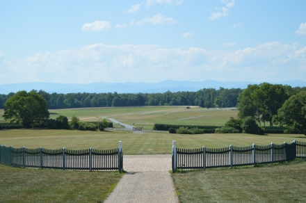 The view from James Madison's front porch.