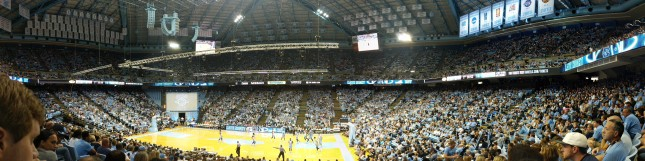 Packed Dean Dome!