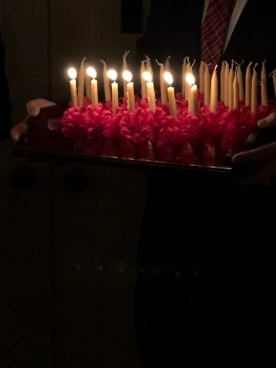 Moravian candles...
