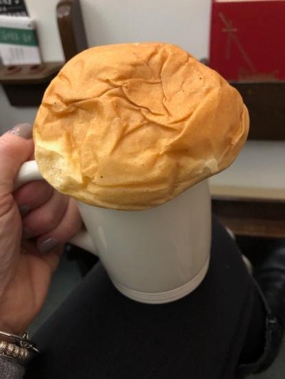 Moravian bun & coffee