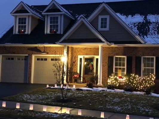 My house illluminated...