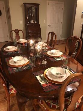 Christmas Dinner...