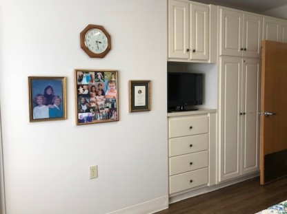 Family picture wall...
