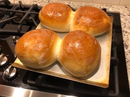 Super Bowl bread bowls!