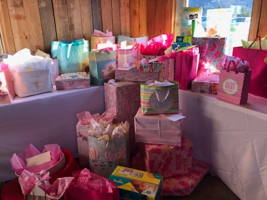 So many baby gifts!