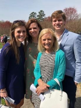 Outside Easter Service...