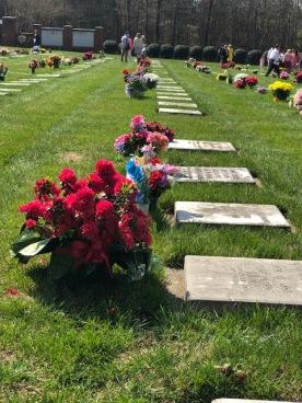 Graveyard Easter Service...