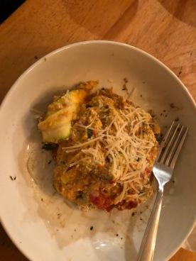 Unbelievable lasagna!