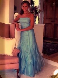 Beautiful dress, beautiful girl...