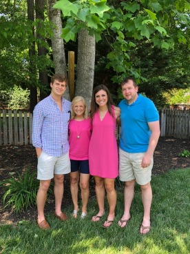Color coordinated family!
