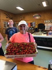 13+ pounds of berries!