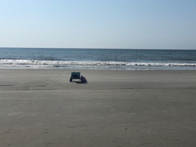 Low tide, large beach, my chair!