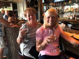 Sisters at the bar...