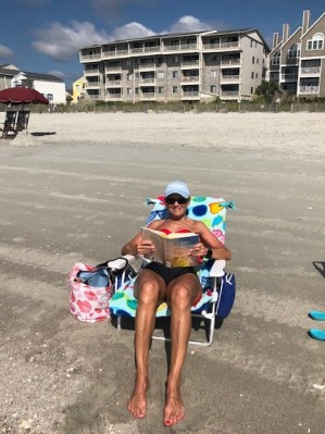 Beach and books!