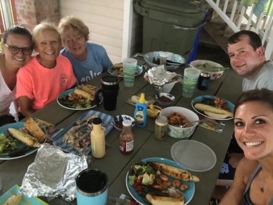 Big beach family dinner!