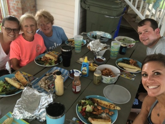 Big beach family dinner!
