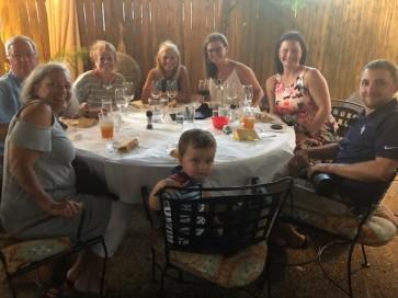 Family birthday dinner...