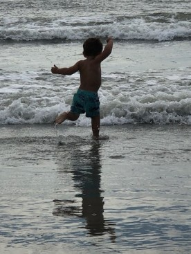Jumping the waves!