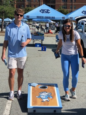 Brother/Sister Cornhole....
