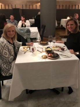 Shared birthday dinner!