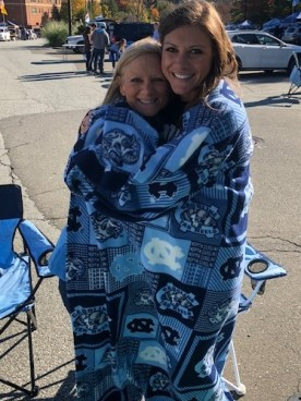 BRRR! Chilly Gameday morning!