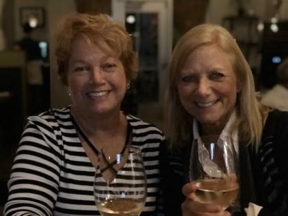 Sisters celebrating!