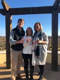 Afton Vineyard...Cheers!