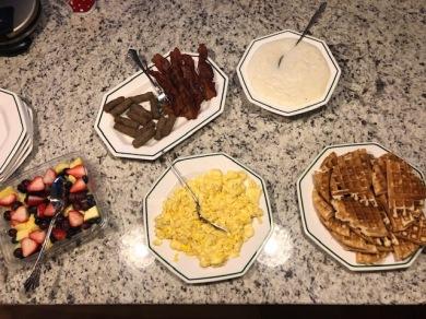 Christmas breakfast is served!
