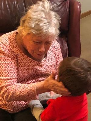 Great-Grandma and Jack...