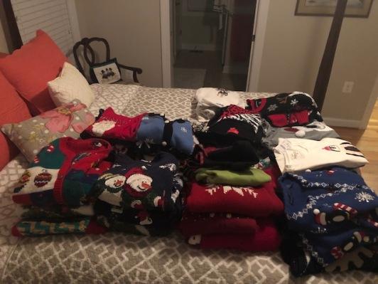 Organizing Sweaters...
