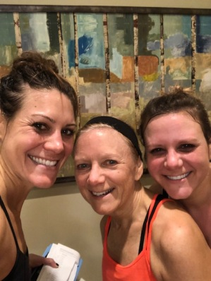 Post cycle class - my girls!