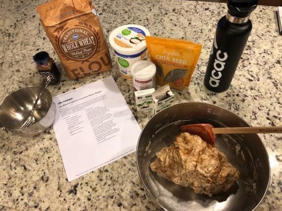 Bagel ingredients...