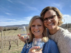 My wine buddy! Who is also my beautiful daughter!
