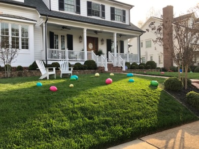 Charlotte is Easter ready!