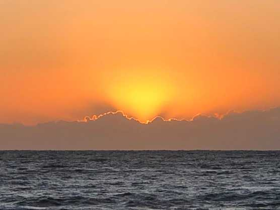 Sun still rising!
