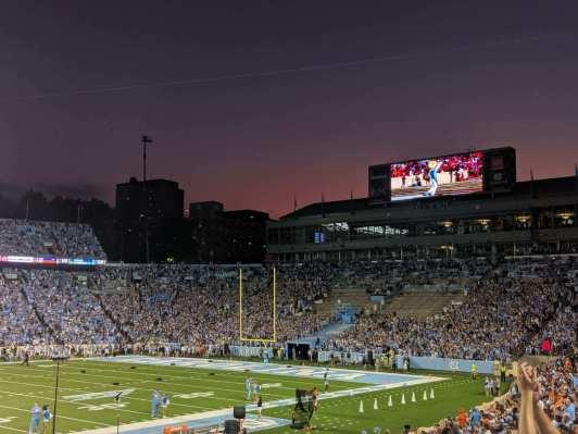 Beautiful night for football!