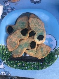 Tar Heel cookies...