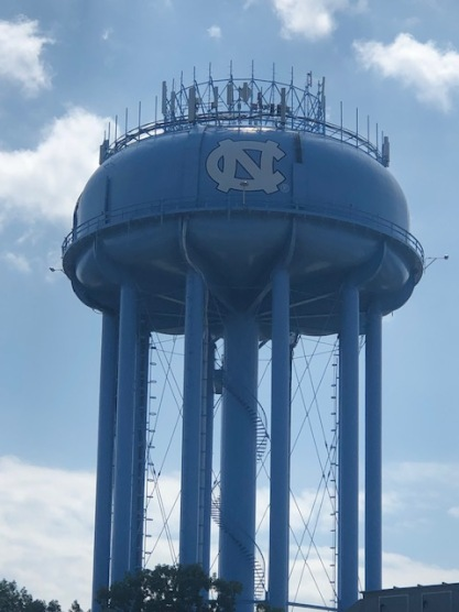 Water tower pre-game!