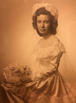 My beautiful Momma on her wedding day...