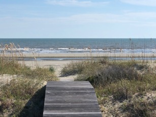 Kiawah...the beach.