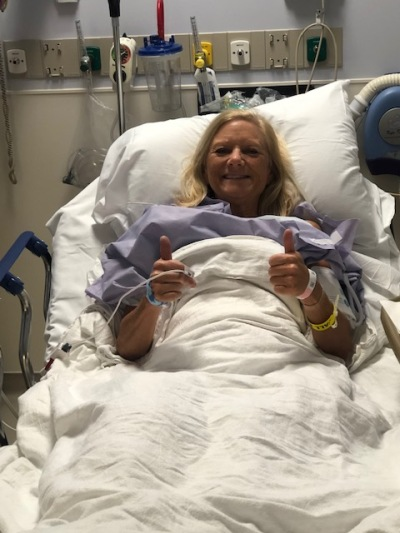 Surgery's a success!