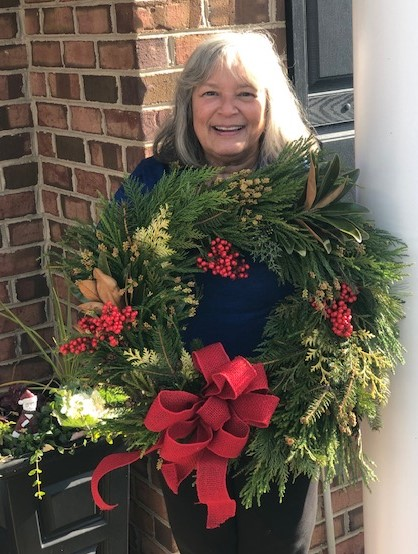 My sister's beautiful wreath!