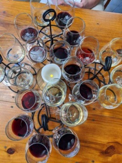 Flights of wine!
