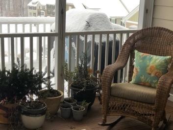 Porch view...