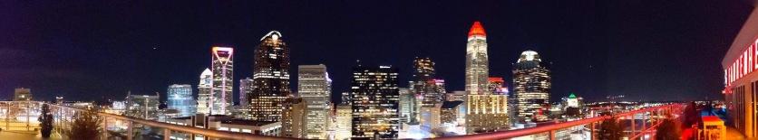 Charlotte skyline...