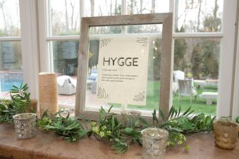 Hygge... party theme... comfy and cozy!