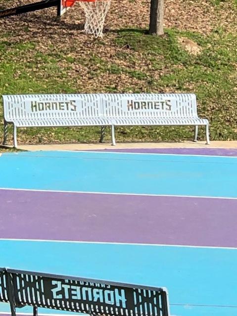 Latta Park - Hornets basketball court...