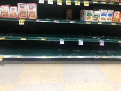 No bread flour... NO flour at all!