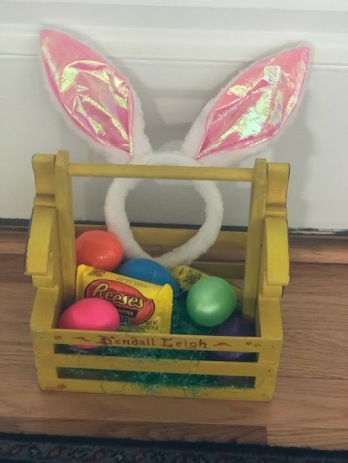 The Easter Bunny came!