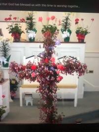 Easter cross...